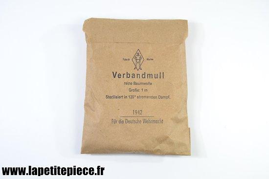 Verbandmull 1942 Für die Deutsche Wehrmacht
