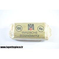 Pansement D.R.K. fabriqué à Sosnowitz (Pologne occupée)