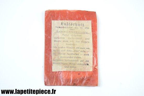 Luftschutz Verbandpäckchen 5749 - 1943