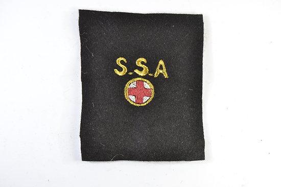 Repro patch de bras SSA section sanitaire automobile