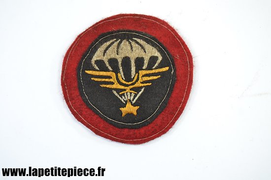 Repro patch Français Indochine STUP Section Technique des Unités Parachutistes. Saigon 1946