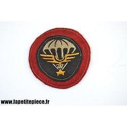 Repro patch Français Indochine STUP Section Technique des Unités Parachutistes. Saigon 1946