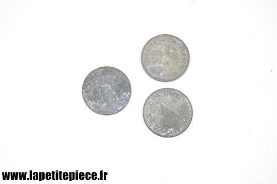 Lot x3 monnaies allemandes WW2