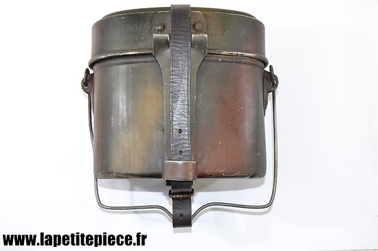 Gamelle Autrichienne reconditionnée Allemande Kochgeschirr 31, camouflée
