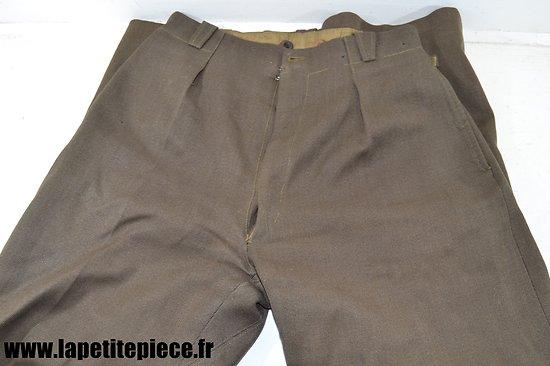 Pantalon d'officier - fabrication tailleur
