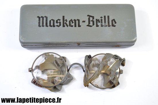Boitier et lunettes Masken-Brille - Allemand WW2