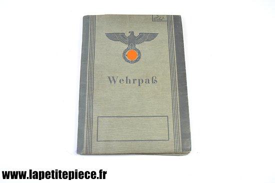 Wehrpass Allemand Deuxième Guerre Mondiale