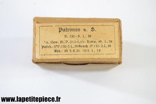 Boite de 15 patronen 1936 - 1939
