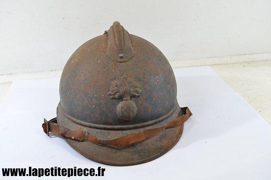 Casque Français modèle 1915 infanterie (Adrian)