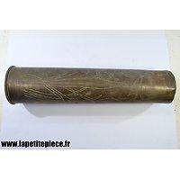 Douille / vase artisanat Souvenir Première Guerre Mondiale