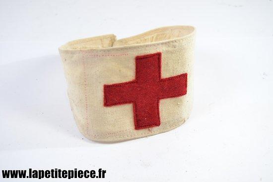 Repro brassard médical Français - croix rouge