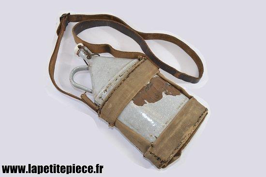 Bidon / gourde civile début-milieu 20e Siècle. FFI FFL corps franc