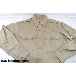 Chemise officier US - Shirt Wool Officer's - post WW2