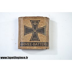 Repro pile Allemande WW1 pour lampe de poche. ARMEE BATTERIE 1914