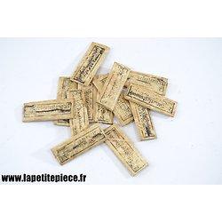 Repro sachet de deux épingles - matériel médical Allemand WW1