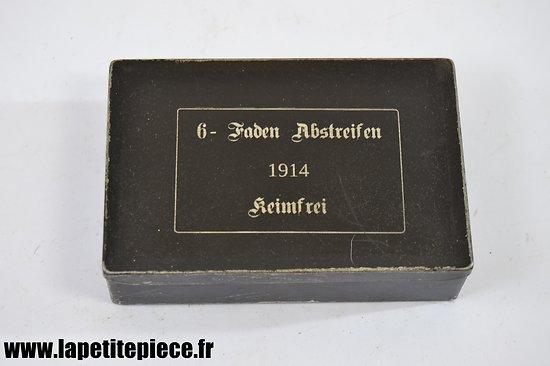 Repro boite de pansements Allemand WW1