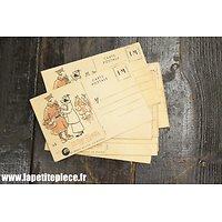 Repro carte postale France WW2