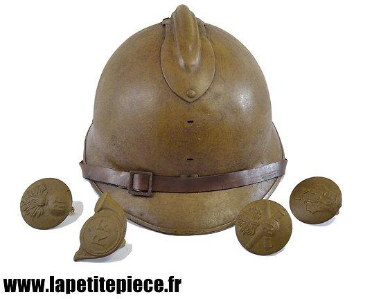 Casque Français modèle 1926 reconditionné WW2