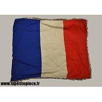Ancien drapeau Français 120cm x 137cm