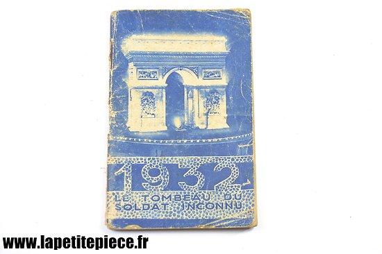 Agenda du Jeune Français 1932 - Ministère de la Guerre, préparation au service militaire BPME