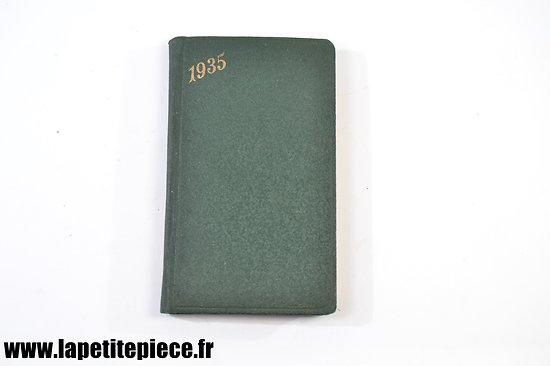 Agenda 1935 (La Procure Namur Belgique)