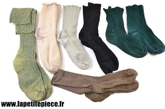 Paire de chaussettes ancienne