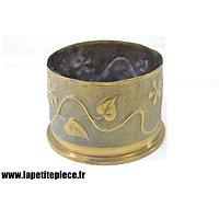 Pot vase artisanat - 4,5 inch Howitzer, Anglais Première Guerre Mondiale
