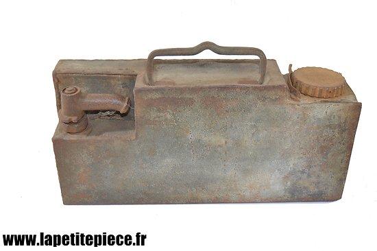 Caisse de refroidissement / caisse à eau de MG08 Allemande Première Guerre Mondiale
