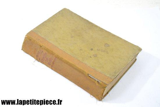 Livre en Allemand 1940 - Tampon Croix Rouge de Genève, délégation en France.