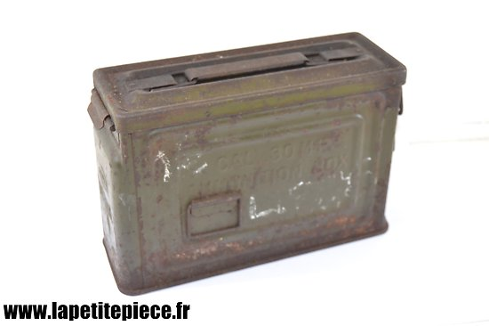 Caisse US Cal. 30 M1 Ammunition Box CANCO - WW2
