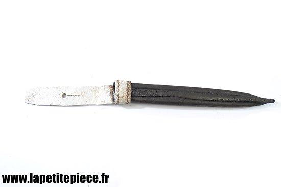 Repro étui / fourreau de poignard / dague de marine 1833
