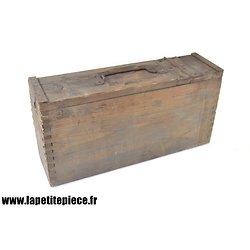 Caisse Allemande MG08-15 en bois.