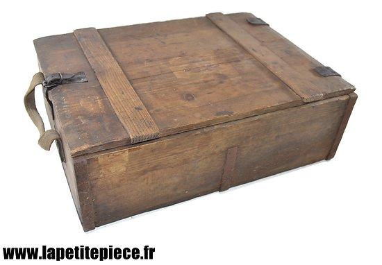 Caisse Allemande 1918 pour 1500 cartouches 7,92 mm Patronenkasten 88