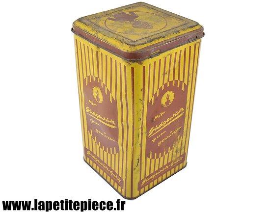 Boite de conserve Allemande début 20e siècle. Saucisson Lorrain