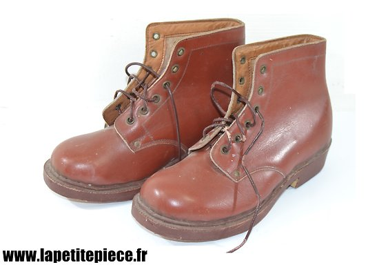 Paire de brodequins / souliers enfants, civil