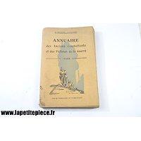 1933 - Annuaire des anciens combattants et des victimes de la Guerre