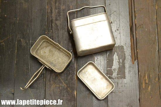 Gamelle modèle 1935 / marmite individuelle. France WW2 Ets CP 1939