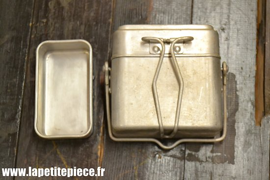 Gamelle modèle 1935 / marmite individuelle. France WW2 AM