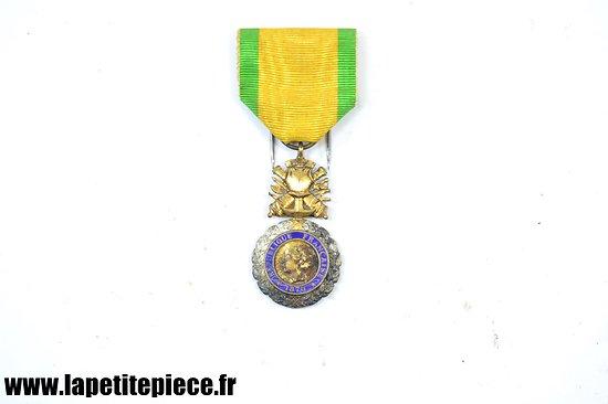 Médaille Valeur et discipline 1870. IIIe république