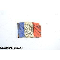 Drapeau souvenir de la journée Française du secours National 1915 ALSACE