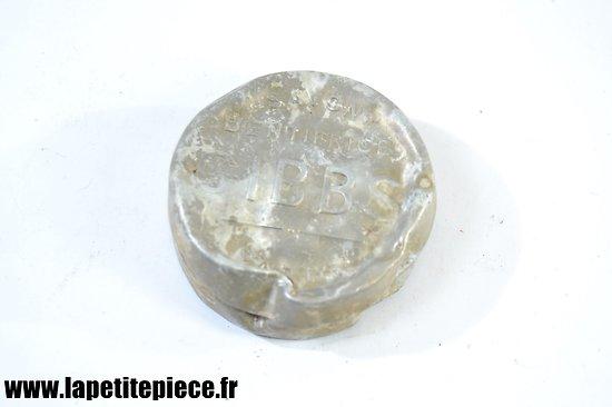 Boite savon dentifrice GIBBS Soldat Français, WW2. Pièce de terrain