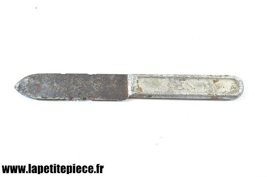 Couteau US 1917 - pièce de terrain