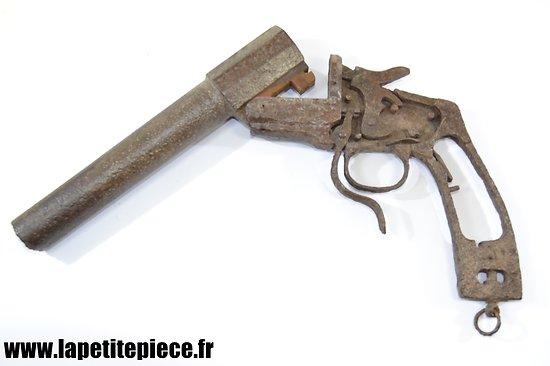 Pistolet lance fusée modèle 1895 Hebel Armée Allemande Première Guerre Mondiale- pièce de terrain