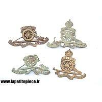 Royal Artillery Badge - Royaume-Uni Première Guerre Mondiale