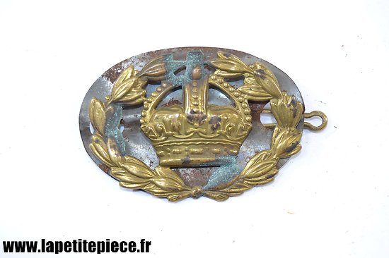 Insigne de bras Brass British Army Warrant Officer Rank Kings.