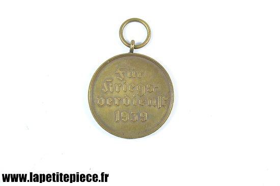 Médaille Allemande Fur Kriegs Verdien 1939