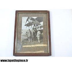 Photo hydravion Armée Française début 20e Siècle. Sous verre.