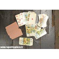 Jeu de cartes ancien, tarot La Ducale