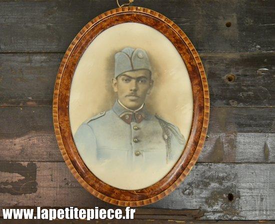 Cadre photo colorisée soldat 9 Régiment d'Artillerie