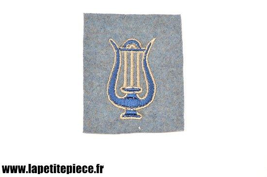 Repro patch attribut de manche Musicien - France WW1